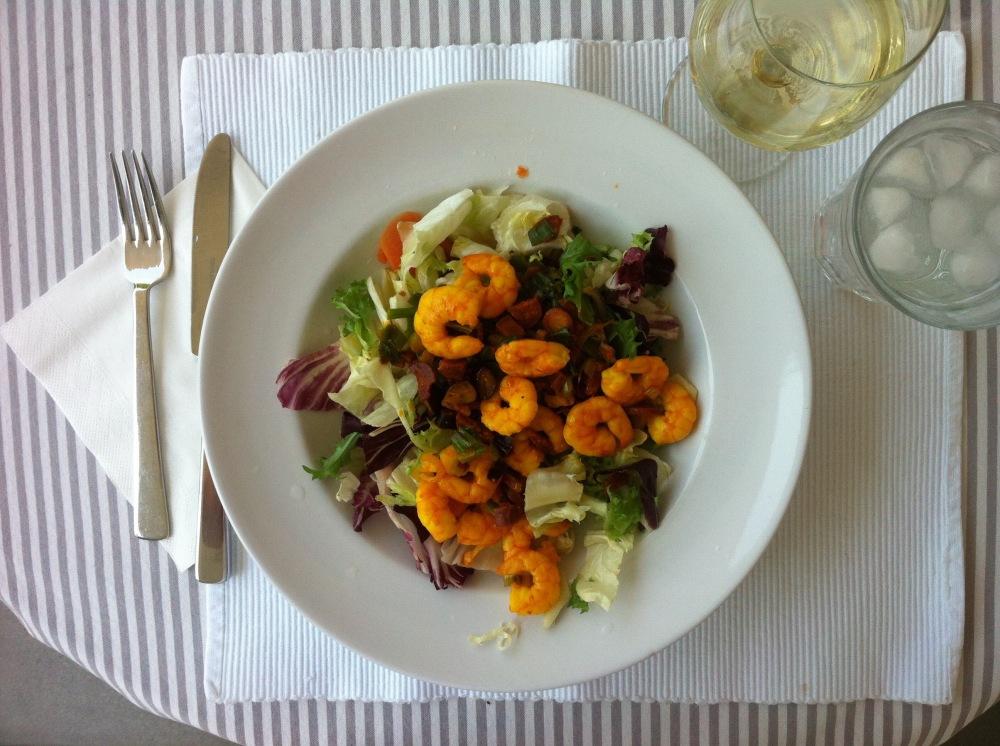 Saffron Shrimp Salad
